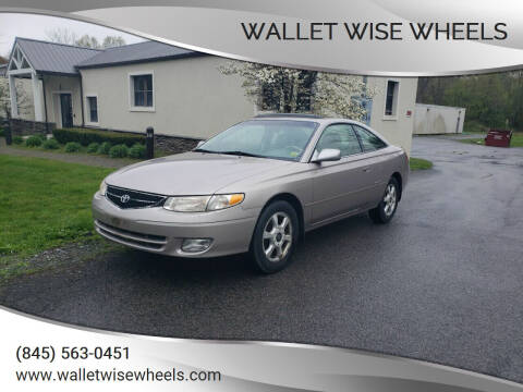 1999 Toyota Camry Solara for sale at Wallet Wise Wheels in Montgomery NY