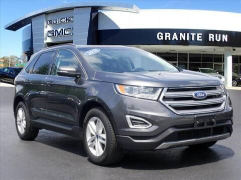 2018 Ford Edge for sale at GRANITE RUN PRE OWNED CAR AND TRUCK OUTLET in Media PA