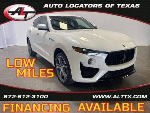 2019 Maserati Levante for sale at AUTO LOCATORS OF TEXAS in Plano TX