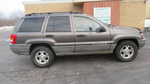 1999 Jeep Grand Cherokee for sale at LENTZ USED VEHICLES INC in Waldo WI