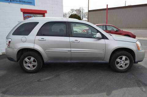 2008 Chevrolet Equinox for sale at CARGILL U DRIVE USED CARS in Twin Falls ID
