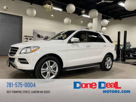 2015 Mercedes-Benz M-Class for sale at DONE DEAL MOTORS in Canton MA