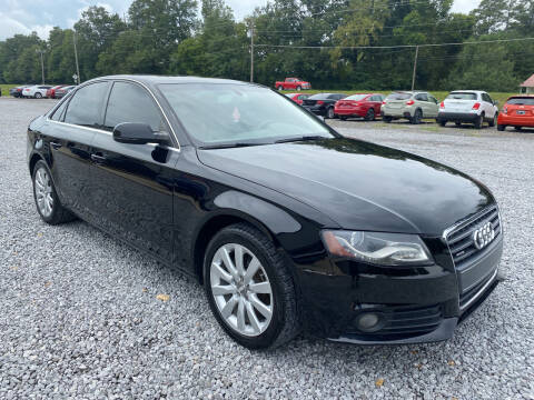 2012 Audi A4 for sale at Alpha Automotive in Odenville AL