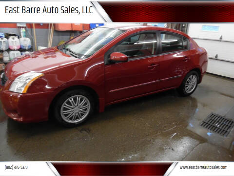 2010 Nissan Sentra for sale at East Barre Auto Sales, LLC in East Barre VT