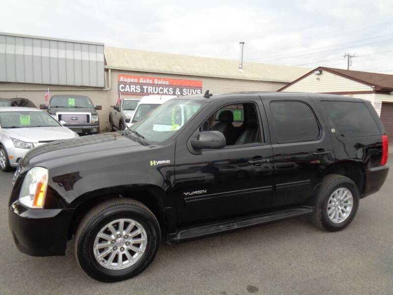 2011 GMC Yukon for sale at Aspen Auto Sales in Wayne MI