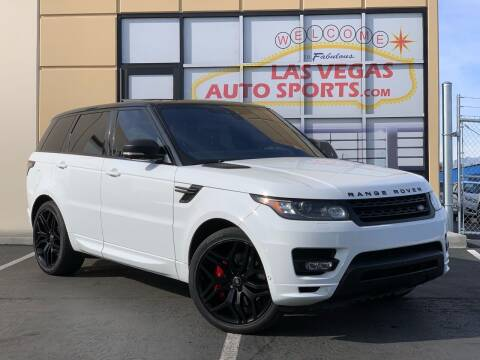 2017 Land Rover Range Rover Sport for sale at Las Vegas Auto Sports in Las Vegas NV