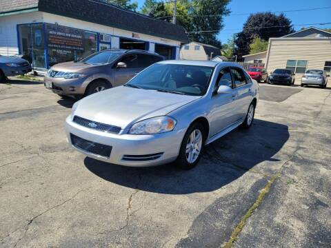 2012 Chevrolet Impala for sale at MOE MOTORS LLC in South Milwaukee WI