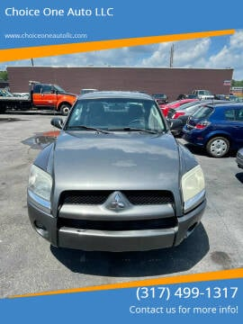 2007 Mitsubishi Raider for sale at Choice One Auto LLC in Beech Grove IN