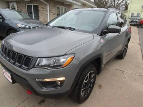 2020 Jeep Compass for sale at VALERI AUTOMOTIVE in Winthrop Harbor IL