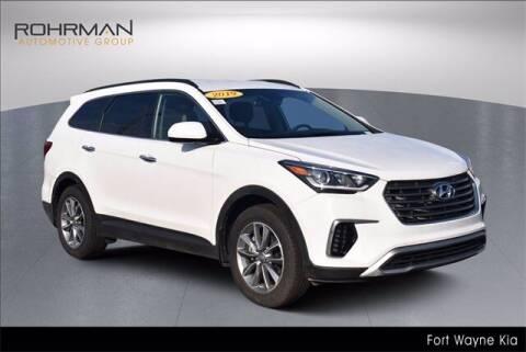 2019 Hyundai Santa Fe XL for sale at BOB ROHRMAN FORT WAYNE TOYOTA in Fort Wayne IN