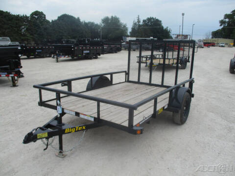 2021 Big Tex Single Axle Utility 35SA-10BK4