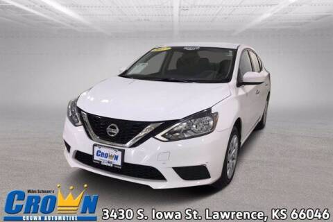 2017 Nissan Sentra for sale at Crown Automotive of Lawrence Kansas in Lawrence KS