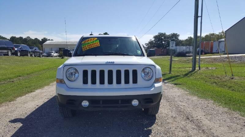 2017 Jeep Patriot for sale at Auto Guarantee, LLC in Eunice LA