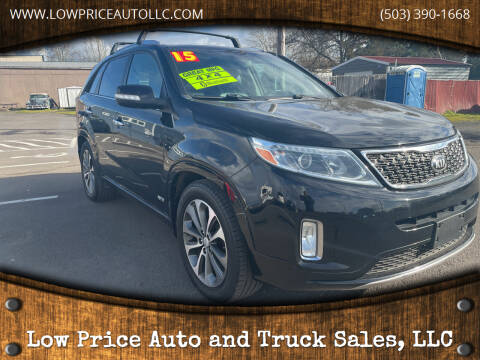 2015 Kia Sorento for sale at Low Price Auto and Truck Sales, LLC in Brooks OR