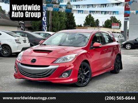 2012 Mazda MAZDASPEED3 for sale at Worldwide Auto Group in Auburn WA