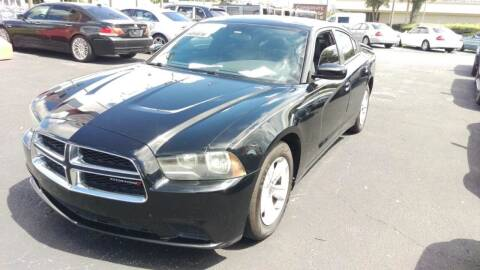 2012 Dodge Charger for sale at Tony's Auto Sales in Jacksonville FL
