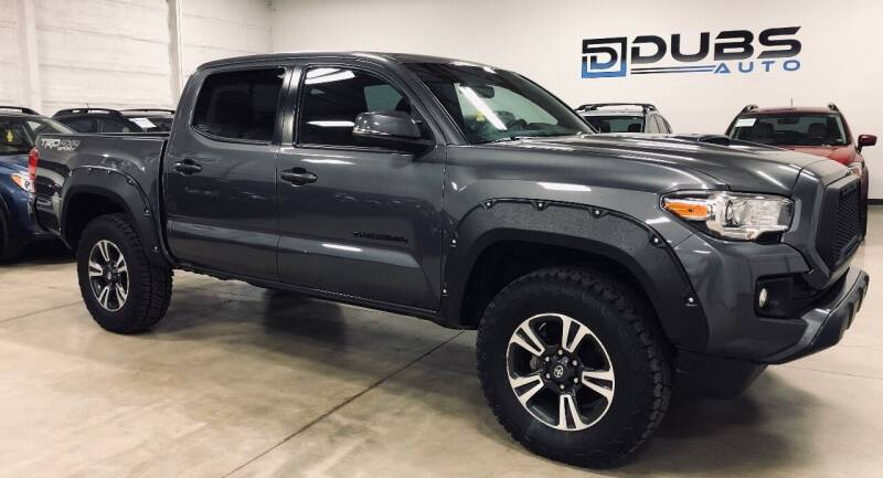 2016 Toyota Tacoma for sale at DUBS AUTO LLC in Clearfield UT