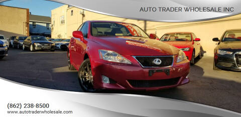2008 Lexus IS 250 for sale at Auto Trader Wholesale Inc in Saddle Brook NJ