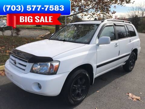 2006 Toyota Highlander for sale at Dreams Auto Group LLC in Sterling VA
