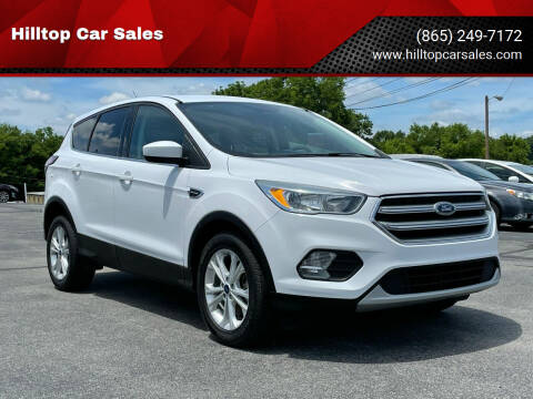 2017 Ford Escape for sale at Hilltop Car Sales in Knoxville TN