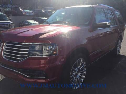 2015 Lincoln Navigator for sale at J & M Automotive in Naugatuck CT