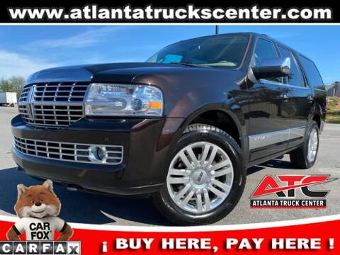 2013 Lincoln Navigator for sale at ATLANTA TRUCK CENTER LLC in Brookhaven GA