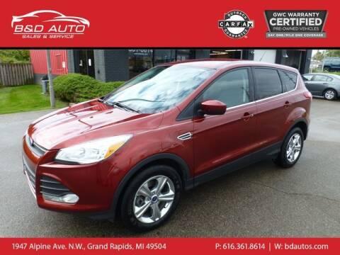 2015 Ford Escape for sale at B&D Auto Sales Inc in Grand Rapids MI