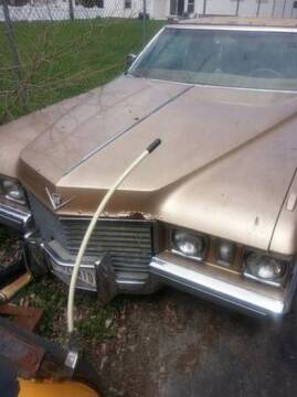 1972 Cadillac DeVille for sale at Haggle Me Classics in Hobart IN