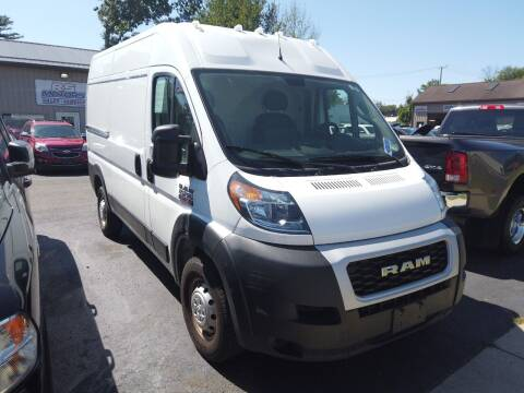 2019 RAM ProMaster Cargo for sale at RS Motors in Falconer NY