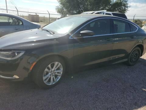 2015 Chrysler 200 for sale at PYRAMID MOTORS - Pueblo Lot in Pueblo CO