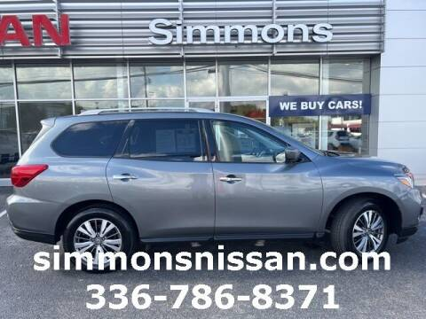 2020 Nissan Pathfinder for sale at SIMMONS NISSAN INC in Mount Airy NC