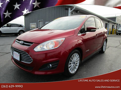 2013 Ford C-MAX Hybrid for sale at Lifetime Auto Sales and Service in West Bend WI