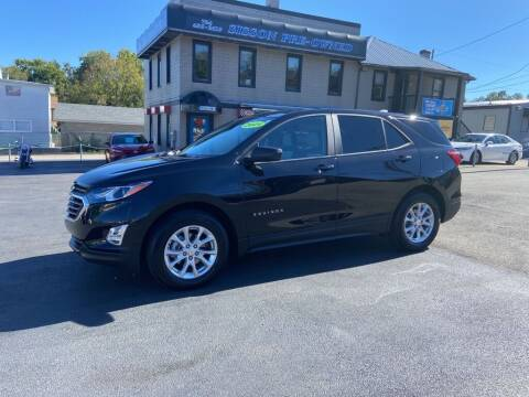 2021 Chevrolet Equinox for sale at Sisson Pre-Owned in Uniontown PA