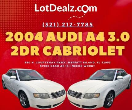 2004 Audi A4 for sale at ROCKLEDGE in Rockledge FL