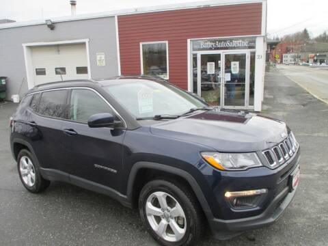 2018 Jeep Compass for sale at Percy Bailey Auto Sales Inc in Gardiner ME