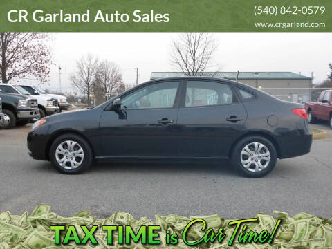2009 Hyundai Elantra for sale at CR Garland Auto Sales in Fredericksburg VA