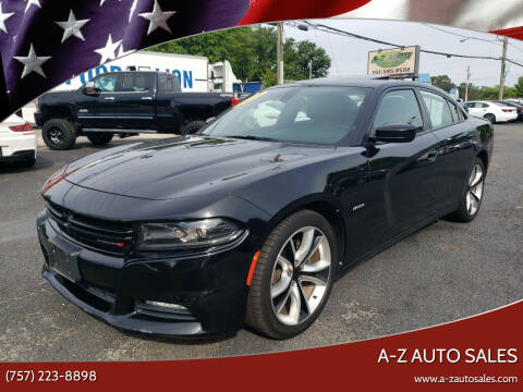 2015 Dodge Charger for sale at A-Z Auto Sales in Newport News VA