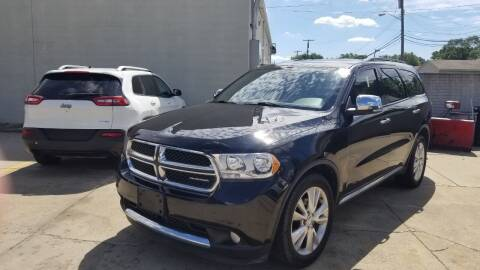 2011 Dodge Durango for sale at Madison Motor Sales in Madison Heights MI