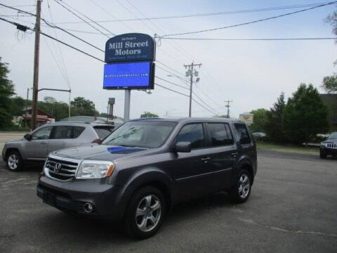 2015 Honda Pilot for sale at Mill Street Motors in Worcester MA
