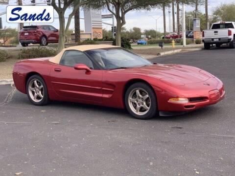 2004 Chevrolet Corvette for sale at Sands Chevrolet in Surprise AZ