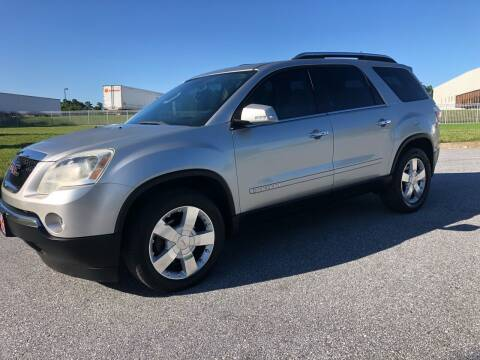 2008 GMC Acadia for sale at GTO United Auto Sales LLC in Lawrenceville GA