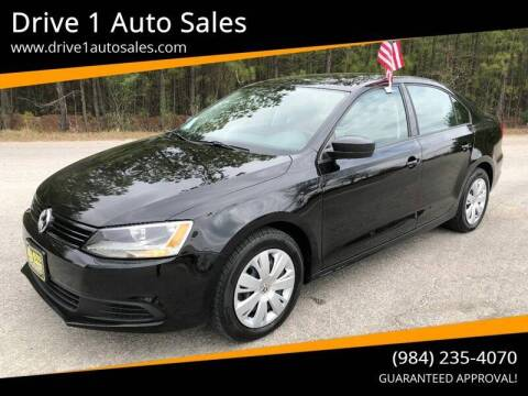 2012 Volkswagen Jetta for sale at Drive 1 Auto Sales in Wake Forest NC