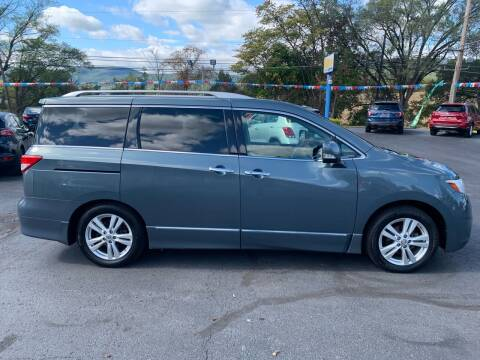 2013 Nissan Quest for sale at MAGNUM MOTORS in Reedsville PA