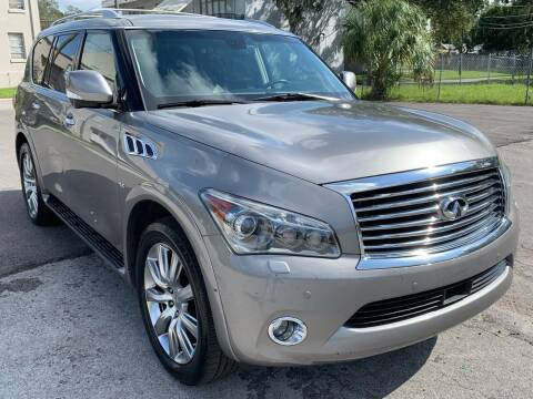 2014 Infiniti QX80 for sale at Consumer Auto Credit in Tampa FL