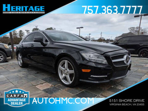 2014 Mercedes-Benz CLS for sale at Heritage Motor Company in Virginia Beach VA
