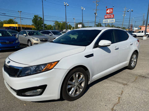 2013 Kia Optima for sale at 4th Street Auto in Louisville KY