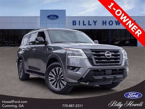 2021 Nissan Armada for sale at BILLY HOWELL FORD LINCOLN in Cumming GA
