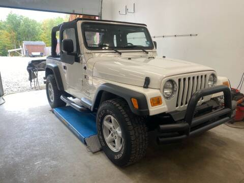2005 Jeep Wrangler for sale at Hornes Auto Sales LLC in Epping NH