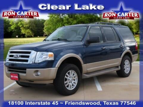 2012 Ford Expedition for sale at Ron Carter  Clear Lake Used Cars in Houston TX