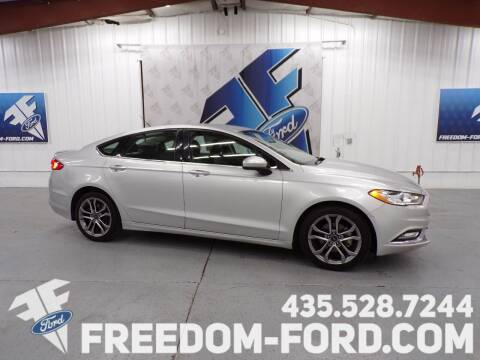 2017 Ford Fusion for sale at Freedom Ford Inc in Gunnison UT